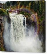 Somewhere Over The Falls Canvas Print