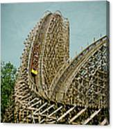 Son Of Beast Roller Coaster Canvas Print