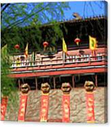 Song Dynasty Town In Dali 2 Canvas Print