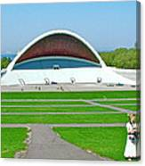 Song Festival Amphitheatre In Tallinn-estonia Canvas Print