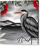 Song Of The Heron Canvas Print