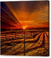 Song Of The Setting Sun Canvas Print