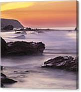 Song Of The Wave 2 By Denise Dube Canvas Print