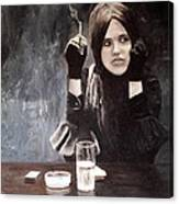 Sonja In Grisaille Canvas Print
