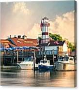 Sono Seaport Seafood Canvas Print
