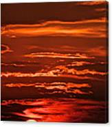 Soothing Saturday Sunset Canvas Print