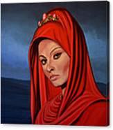 Sophia Loren 2  Canvas Print