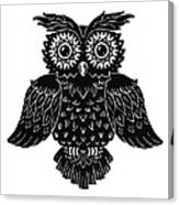 Sophisticated Owls 1 Of 4 Canvas Print