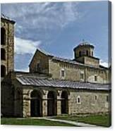 Sopocani Monastery Canvas Print