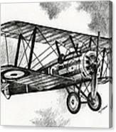 Sopwith F.1 Camel 1917 Canvas Print