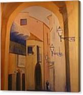 Sorento Scene Canvas Print