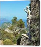 Sorrento Peninsula From Mt Solaro Capri  Canvas Print