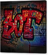 Sot Graffiti - Lisbon Canvas Print