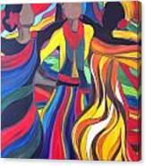 Soul Sista's Canvas Print