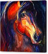 Soulful Horse Painting Canvas Print