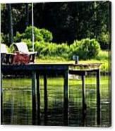 Sound Dock Canvas Print
