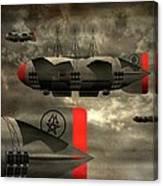 Sound Zeppelins Canvas Print