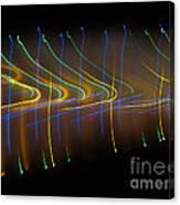 Soundcloud. Dancing Lights Series Canvas Print