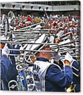 Sounds Of College Football Canvas Print