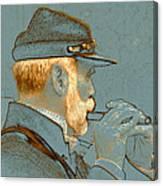Sounds Of The Civil War Canvas Print