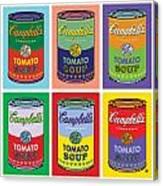 Soup Cans Canvas Print