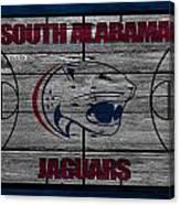 South Alabama Jaguars Canvas Print