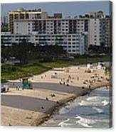 South Beach Afternoon Canvas Print