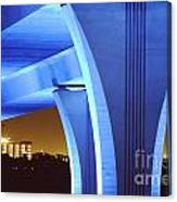 South Beach Bridge Canvas Print