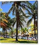 South Beach Miami Beach Canvas Print