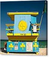 South Beach Miami Canvas Print