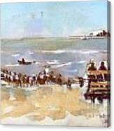 South Bench Lbi Canvas Print