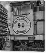 South Buffalo Railway  7d06191b Canvas Print