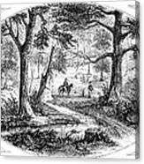 South Carolina Battlefield Canvas Print