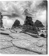 South Coyote Buttes Monochrome 1 Canvas Print