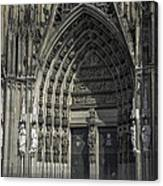 South Entrance Cologne Cathedral Canvas Print