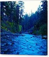 South Fork Of The Tieton  Canvas Print