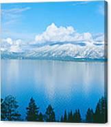 South Lake Tahoe In Winter, California Canvas Print