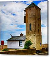 South Lookout Tower Aldeburgh Beach Canvas Print