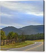 South Mountains Nc Canvas Print