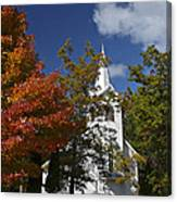 South New Hope Church - Fall Canvas Print