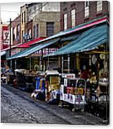 South Philly Italian Market Canvas Print
