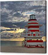 South Pointe Park Lighthouse Canvas Print