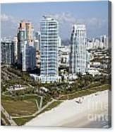 South Pointe Park Miami Beach Florida Canvas Print