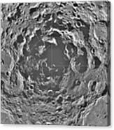 South Pole Of Moon  Canvas Print