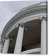 South Portico Of The White House Canvas Print