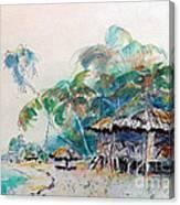 South Sea Home Canvas Print