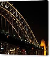 South Sydney Harbour Bridge Canvas Print