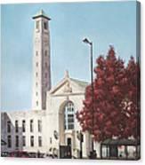 Southampton Civic Center Public Building Canvas Print
