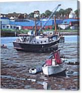 Southampton Northam Boats Canvas Print