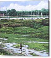 Southampton River Hamble Canvas Print